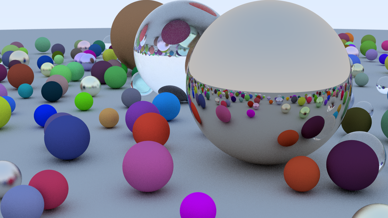 Vulkan Ray Tracing Example